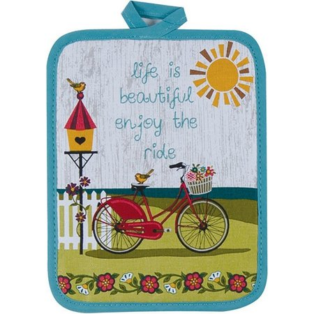 Kay Dee Designs Life Is Beautiful Pot Holder
