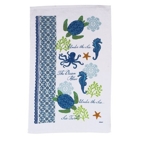 kay dee designs sea turtle terry kitchen towel bealls kay dee designs home embroidered terry kitchen towel set