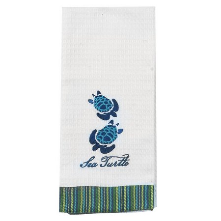 Kay Dee Designs Sea Turtle Waffle Kitchen Towel
