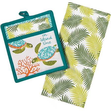 Kay Dee Designs 2-pc. Island Time Towel Set