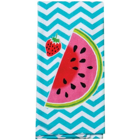 kay dee designs chevron watermelon kitchen towel bealls kay dee designs embroidered waffle kitchen dish towel