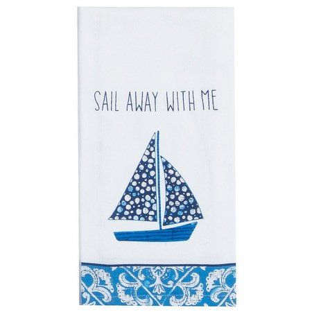Kay Dee Designs Sail Away Flour Sack Towel