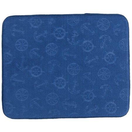 Kay Dee Designs Nautical Drying Mat