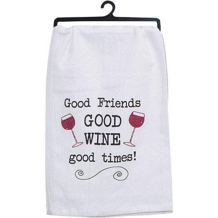 Kay Dee Designs Good Friends Good Wine Flour