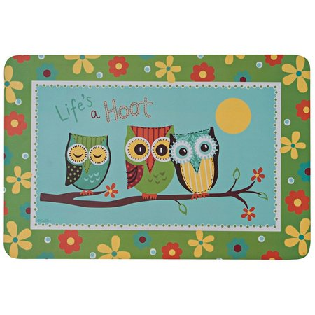 Kay Dee Designs Life's A Hoot Laminate Placemat