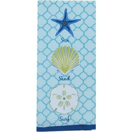 Kay Dee Designs Saltwater Shell Tea Towel