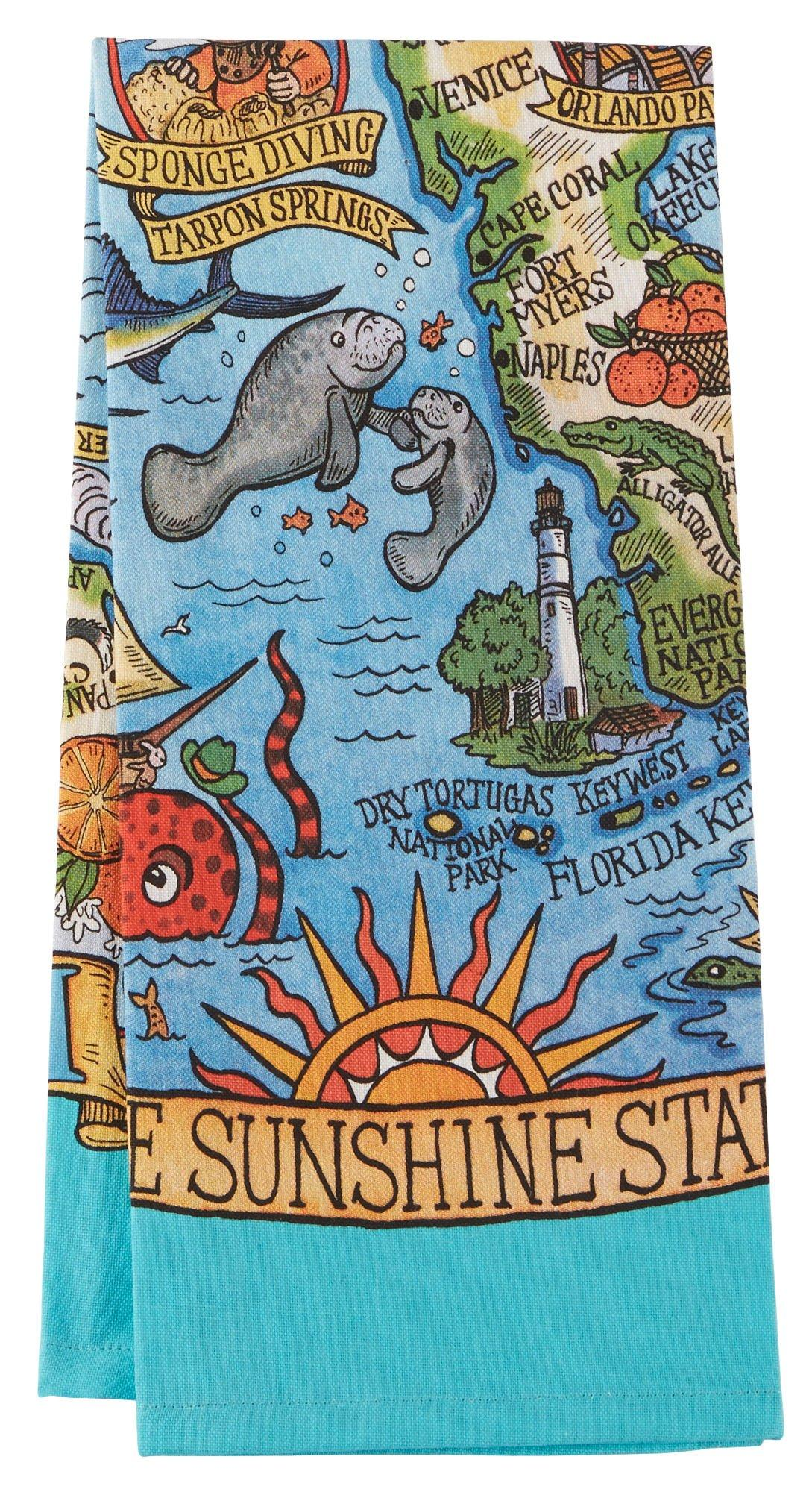 Superior Kay Dee Designs Florida Adventure Tea Towel