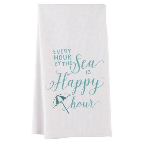 Kay Dee Designs Sea Is Happy Kitchen Towel