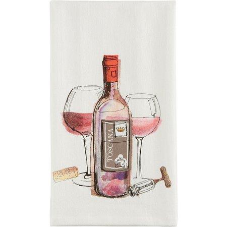 Kay Dee Designs Choice Wine Flour Sack Towel