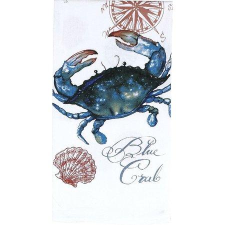 Kay Dee Designs Blue Crab Flour Sack Towel