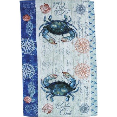 Kay Dee Designs Blue Crab Terry Towel