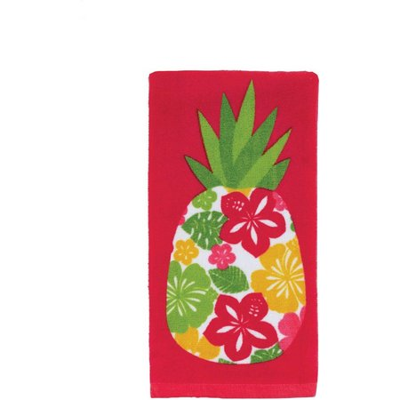 Beaufiful pineapple kitchen towels photos a kailo chic life craft ritz hibiscus pineapple kitchen towel bealls florida publicscrutiny Image collections
