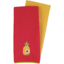 Ritz 2-pk. Microfiber Pineapple Kitchen Towels