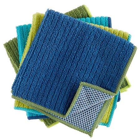 Ritz 4-pc. Scour Back Microfiber Dish Cloth Set