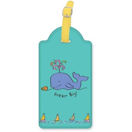 Cape Shore Whale Luggage Tag