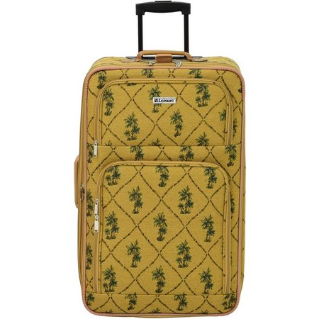 Leisure Luggage 26'' Palm Tapestry Upright Luggage