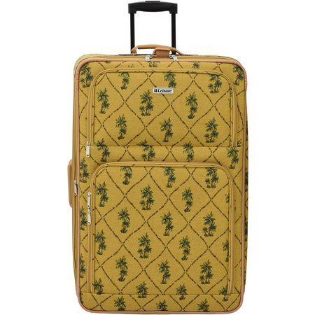 Leisure Luggage 29'' Palm Tapestry Upright Luggage