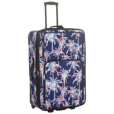 Leisure Luggage 29'' Expedition Navy Palm Upright Luggage