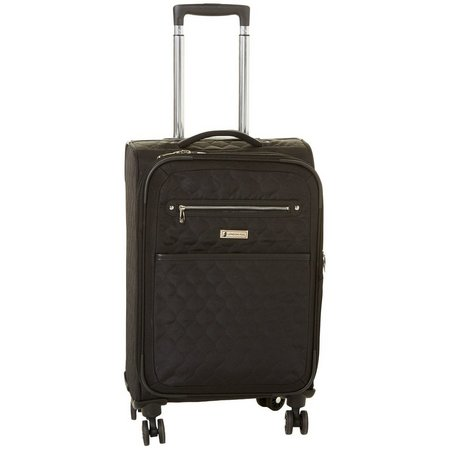 London Fog 20'' Calypso Quilted Expandable Spinner Luggage