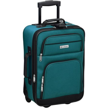 Leisure Luggage 18'' Expandable Upright Luggage