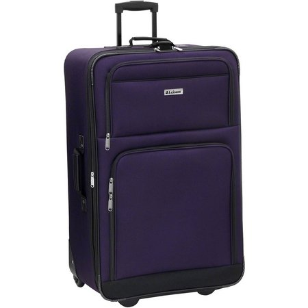 New! Leisure Luggage 26'' Expandable Upright Luggage
