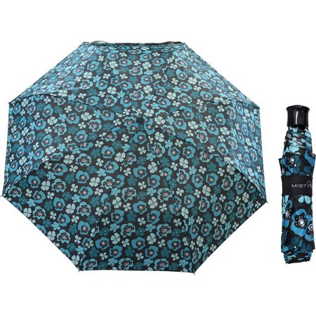 Misty Harbor Ocean Poppy Manual Open Umbrella