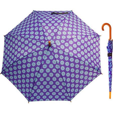 Misty Harbor Flower Power Stick Umbrella