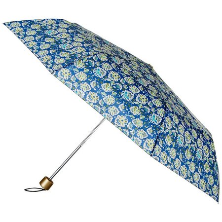 Tri Coastal Floral Manual Umbrella