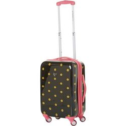 Travelers Club Polka Dot 20'' Expandable Luggage