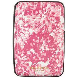 Isaac Mizrahi Pink Floral RFID Hard Case Wallet