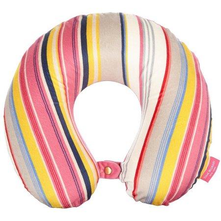 Caribbean Joe Pink Stripe Therapeutic Pillow
