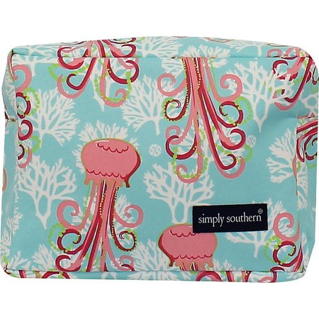 Simply Southern Jellyfish Cosmetic Bag