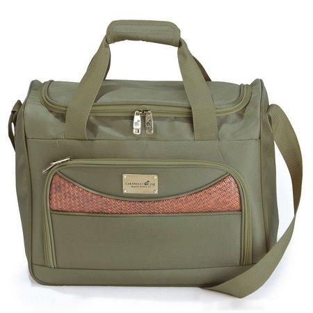 4b5931a242 Caribbean Joe 16   Olive Weekender Bag