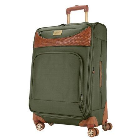 Caribbean Joe 28'' Olive Spinner Luggage