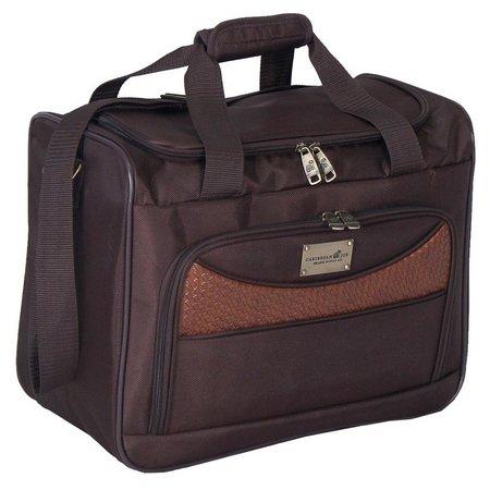 Caribbean Joe 16'' Chocolate Weekender Bag