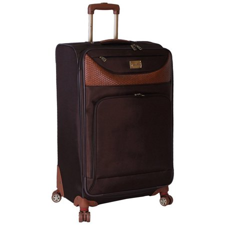 Caribbean Joe 24'' Chocolate Spinner Luggage