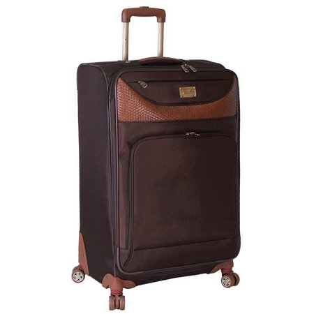 Caribbean Joe 28'' Chocolate Spinner Luggage