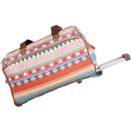 Lily Bloom On The Prowl Wheeled Underseat Bag