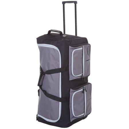 CIAO! 30'' Grey Wheeled Duffel Bag