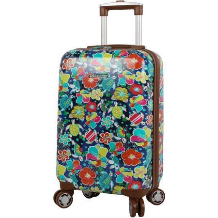 Lily Bloom 20'' Turtle Power Hardside Luggage