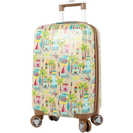 Lily Bloom 20'' Beach House Hardside Luggage