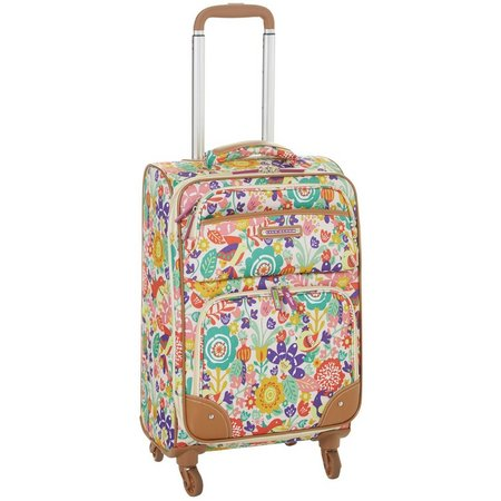 Lily Bloom Tulips & Tweets 20'' Spinner Luggage