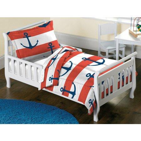 Dream Factory Sail Away Toddler Comforter Set
