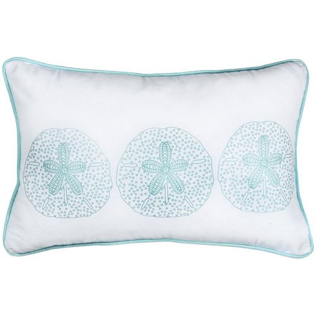 CHF Surfside Sand Dollar Decorative Pillow