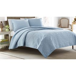 Laura Ashley Felicity Breeze Blue Comforter Set