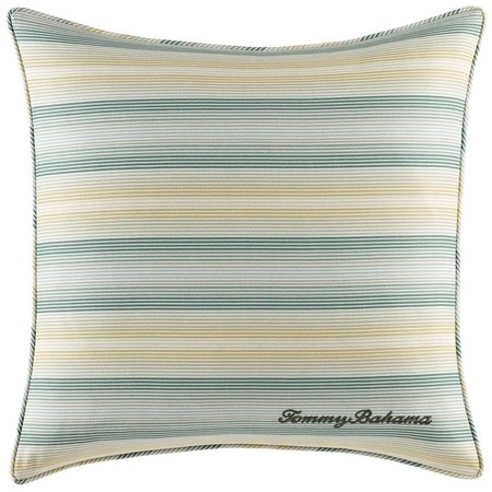 Tommy Bahama Cuba Cabana Stripe Square Pillow