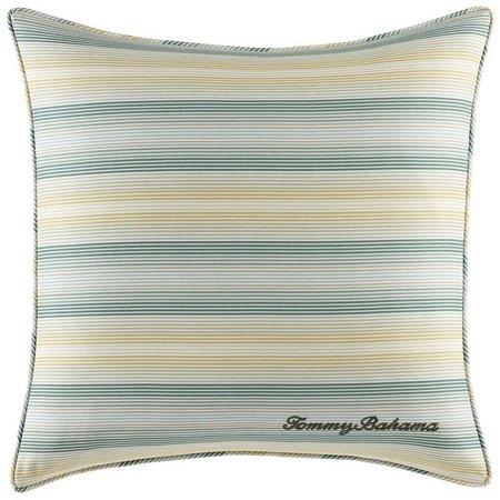 Tommy Bahama Cuba Cabana Stripe Square Pillow