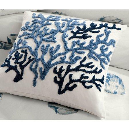 Harbor House Beach House Square Decorative Pillow