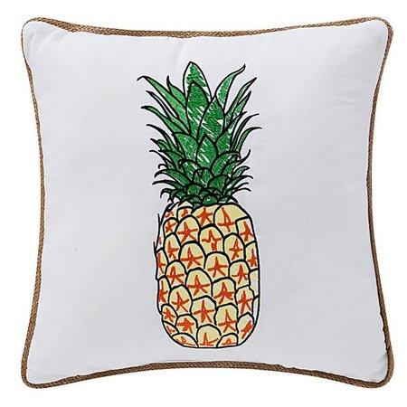 Bayshore Drive Pineapple Decorative Pillow