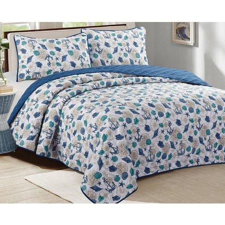 CHD Home Textiles St. Croix Quilt Set